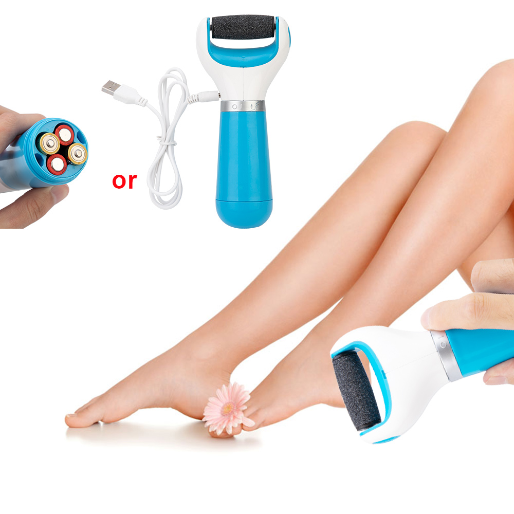 Pedicure-File Foot-Scrubber Hard-Skin-Callus-Remover Dead Electronic Rechargeable-Roller