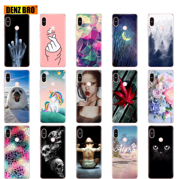 For Xiaomi Redmi Note 5 global version Case Silicone Soft TPU Cover For redmi note 5 pro Phone shell protective coque bumper image