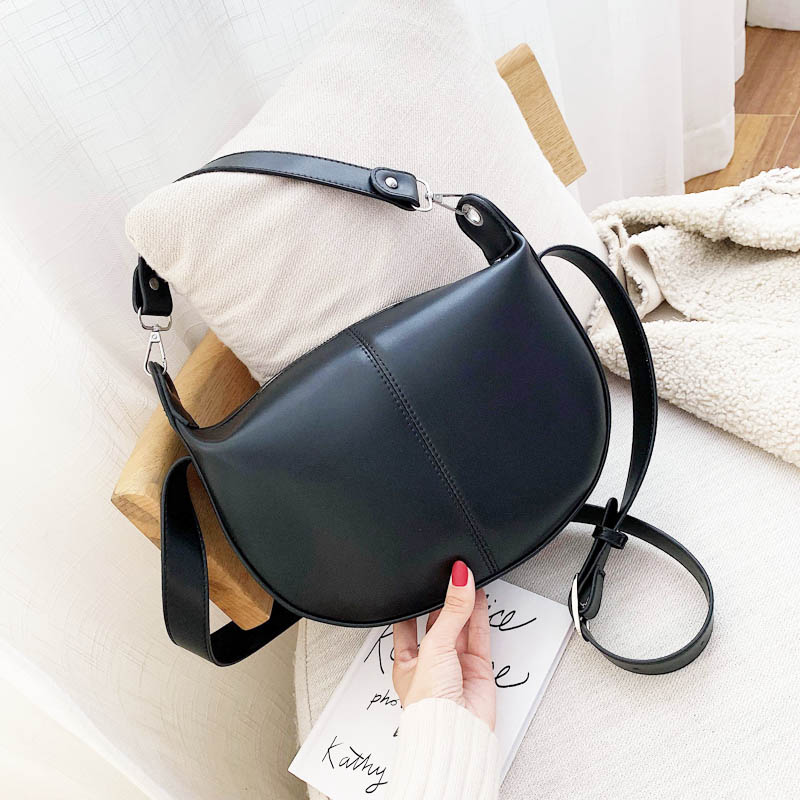 Solid Retro PU Leather Crossbody Bags For Women 2019 Small Shoulder Messenger Bag Lady Handbags Bolso Mujer Women Bag