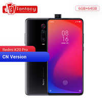 "Smartphone d'origine Xiaomi Redmi K20 Pro 6GB 64GB Snapdragon 855 Octa Core 6.39 ""écran AMOLED batterie 4000mAh appareil photo 48MP"