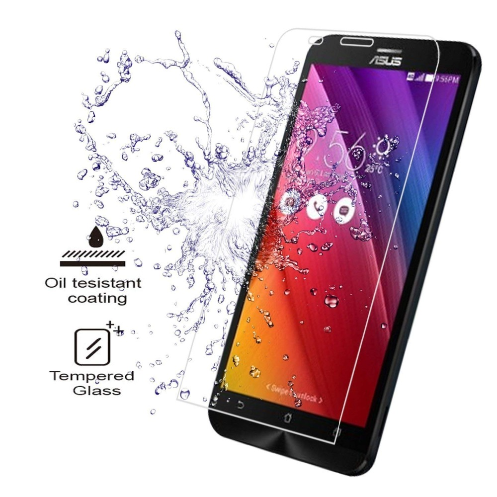 Tempered <font><b>Glass</b></font> for <font><b>Asus</b></font> <font><b>Zenfone</b></font> <font><b>2</b></font> <font><b>ZE500CL</b></font> ZE551ML 550KL 520KL 500KL 601KL ZB551KL ZD551KL <font><b>Screen</b></font> Protector FOR A400 A500 A600CG image