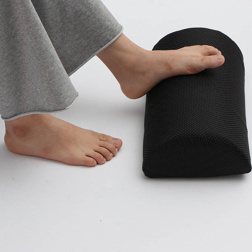 Ergonomic Feet Cushion Support Foot Rest Under Desk Feet Stool Foam Pillow For Home Computer Work Chair Travel Rug Aliexpress