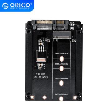 ORICO M.2 NGFF (SATA) SSD to 2.5 SATA Adapter for 2230/2242/2260/2280mm M2 NGFF SSD Solid State Hard Drive M2 NGFF to SATA 22PIN