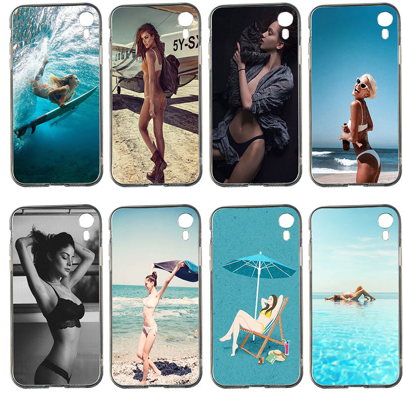 <font><b>Sexy</b></font> <font><b>Bikini</b></font> Girl Pattern Soft Phone Cases for HTC Desire 530 630 626 628 816 820 830 One U11 U12 <font><b>Life</b></font> E9 M9 Plus image