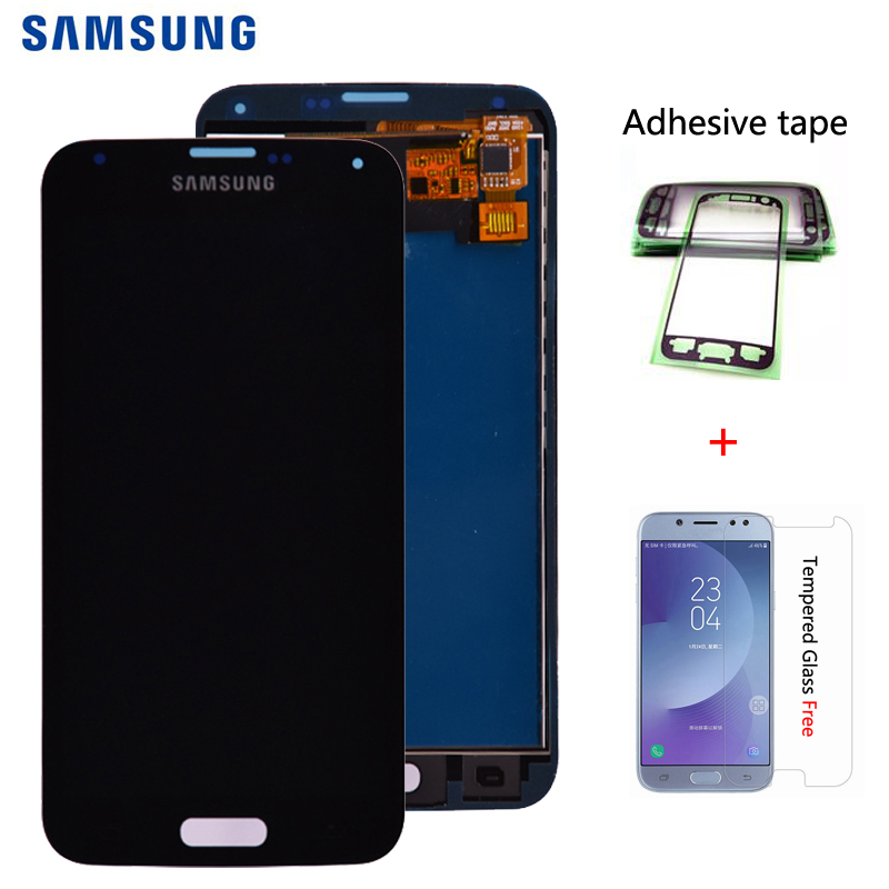 For Samsung S5 G900F LCD <font><b>Display</b></font> Screen Touch Digitizer Assembly Compatible for Samsung Galaxy S5 <font><b>G900</b></font> G900A G900T G900I LCD image