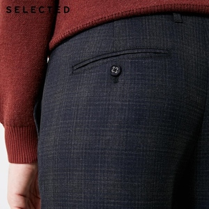 Image 4 - SELECTED Winter Slim Fit Plaid Pants S