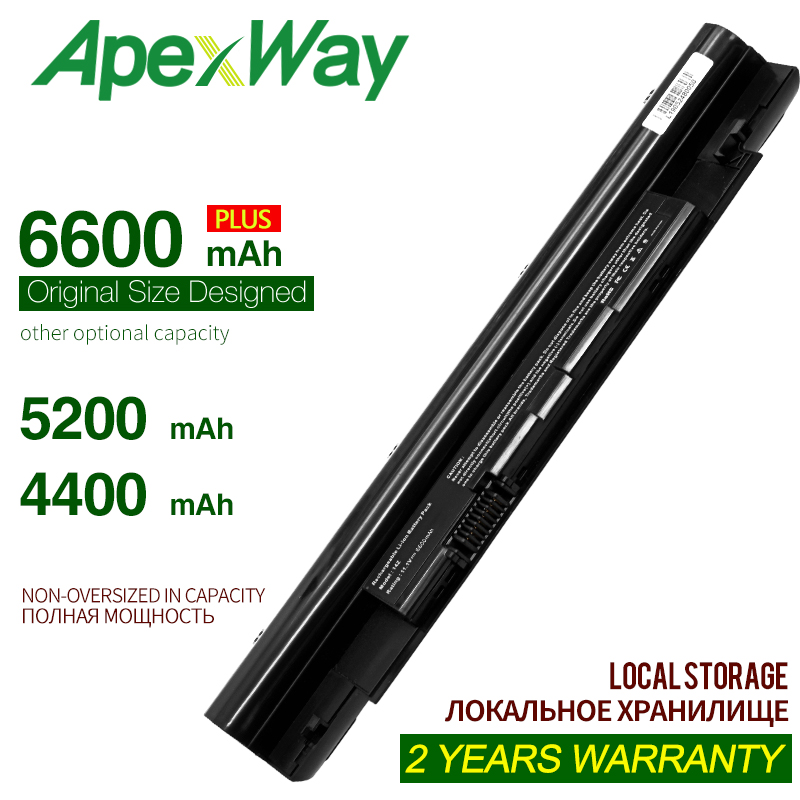 ApexWay 4400mAh 10.8v 6Cells Laptop Battery For Dell Inspiron 13Z N311z 14Z N411z Vostro V131 268X5 N2DN5 For Dell Latitude 3330