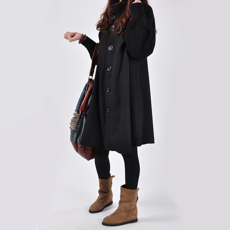 Winter Maternity Coat Maternity Jacket Women Coats Pregnancy Coat Maternity Cloak Woolen Coat Windbreaker Pregnant Jacket in Coats from Mother Kids