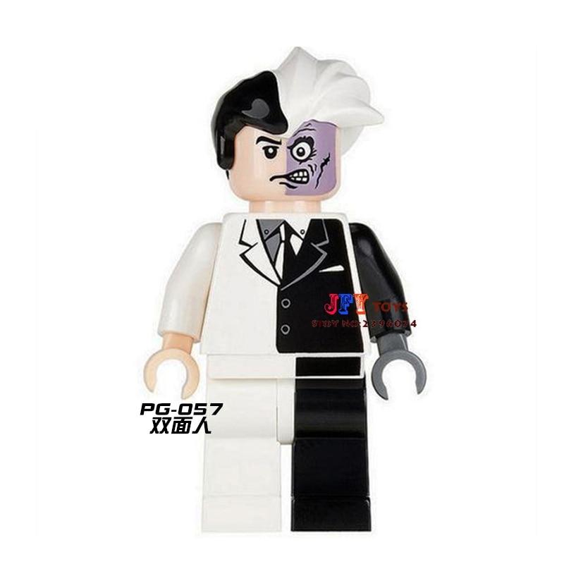 Single Sale Superhero Marvel Classic Two Face Building Blocks Model Bricks Toys For Children Action Figures