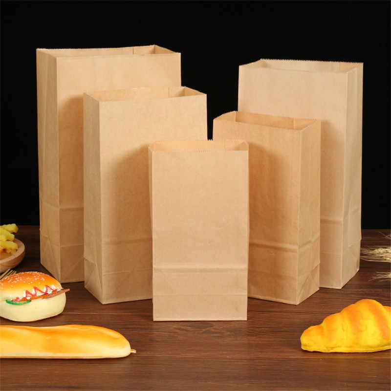 Sacos de papel para embrulho 50 peças, sacos de papel embrulhar pequeno sacos de presente sanduíche festa de casamento sacos de presente sacos ecológicos para fora