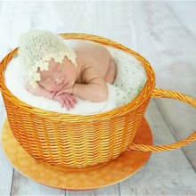 Photography Baby Props Baby Shoot Studio Woven Accessori Basket for Photo Props Baby Newborn Photography Prop Newborn Accessor