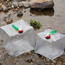 10L Foldable Water Bag Emergency Water Storge Container Outd