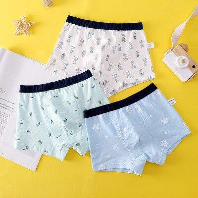 VIDMID new Baby kids  Boys Panties Cotton Underwear Boxer Underpants for boys Cartoon Children's Underwear Clothing 7130 04 2
