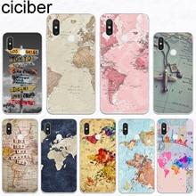 ciciber Phone Case For Xiaomi 9 9T A2 8 6X 5X 5C 5S 5 6 A1 P