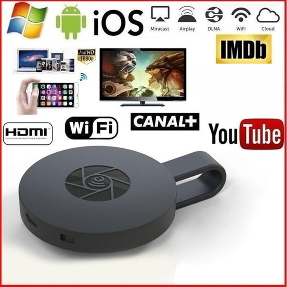 Receiver Dongle Mirror-Screen Media-Stream Hdmi-Wifi-Display Miracast Chrome/google Home title=