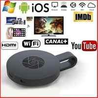 Kuulee 2nd génération Mirascreen numérique HDMI médias vidéo Streamer bâton de télévision Smart TV HD Dongle sans fil WiFi affichage Dongle