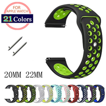 US $1.79 |Strap for Samsung Gear S3 S2 sport Frontier Classic galaxy Watch active 42mm 46 Band huami amazfit gtr bip 22mm 20mm huawei GT 2-in Watchbands from Watches on Aliexpress.com | Alibaba Group