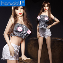 Hanidoll 165cm Silicone Sex Dolls Realistic Full Sized Vagina Anal Oral Breast TPE Love Doll Sex doll Sex Toys for Men стоимость