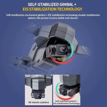 2021 NEW F11 PRO 4K GPS Drone With Wifi FPV 4K HD Camera Two-axis anti-shake  Brushless Quadcopter Vs SG906 Pro 2 RC Dron Toys 2