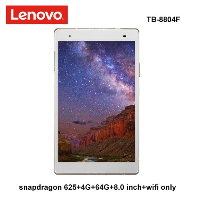 Lenovo XiaoXin 8.0 inç snapdragon 625 4G Ram 64G Rom 2.0Ghz octa çekirdek Android 7.1 altın 4850mAh tablet pc wifi tb 8804F