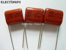 50pcs CBB 224 630V 224J CBB21 0.22uF 220nF P15 Metallized Polypropylene Film Capacitor