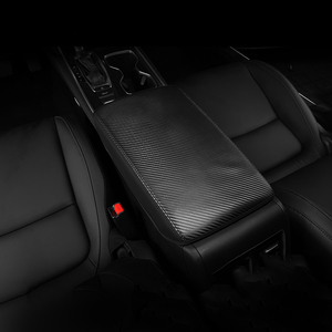Image 2 - For Honda Accord 10th 2018 2019 2020 Armrest Console Pad Cover Cushion Support Box Armrest Top Mat Liner Car Styling Accessories
