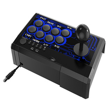 For Switch/PS4/PS3/XBOXone/XBOX360/PC/Android/TV USB Wired Fighting Joystick Game Controller pxn 0082 gamepad arcade wired game joystick controller usb interface for pc ps3 ps4 switch xbox