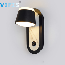 Modern indoor led wall lamp for bedroom 6W Wall Lamps Hotel Walkway Staircase Wall Lamp with ON/OFF Switch  Wall light