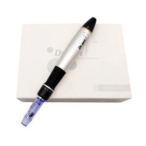 Image 2 - Derma pen Dr. Pen A1 C Permanente Cosmetische Make up Machine microblading Wenkbrauw Eyeliner Lip micro Naald Cartridge dr Pen Bedrade
