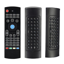 MX3 Backlit Air Mouse T3 For Smart Voice Remote Control 2.4G RF Wireless Keyboard For X96 Mini KM9 A95X H96 MAX Android TV Box