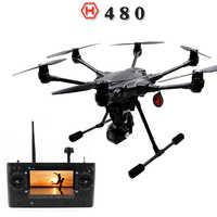 YUNEEC Typhoon H480 Drone Quadcopter con CGO3 cardán 4K-Resolution cámara HD