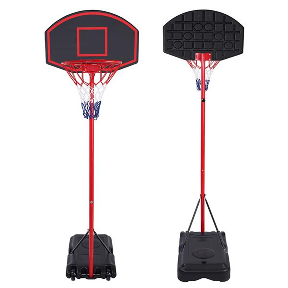 Children's Basketball Stand Portable Kid Teenager Indoor Outdoor Basketball Stand Maxium Applicable Ball Model 7#