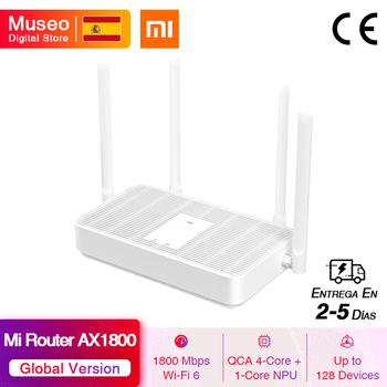 2020 New Global Version Xiaomi Redmi Mi Router AX1800 WiFi6 2.4G /5G dual Frequency Mesh network AX5 4 High Gain Antennas