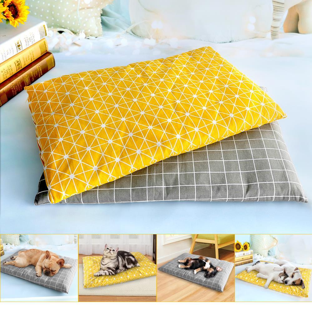 Winter Dog Bed House Soft Pet Dog Beds Mat Warm Sofa Pets Cushion Mattress For Small Medium Large Dogs Cats Chihuahua Cama Perro