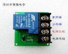 цена на 1 Way 30A Relay Module High Power Relay Control Board Single Switch 5V 12V 24V Authentic