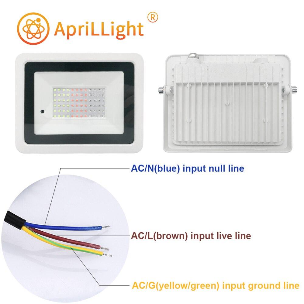 refletor lampada do projetor com controle remoto colorido 03