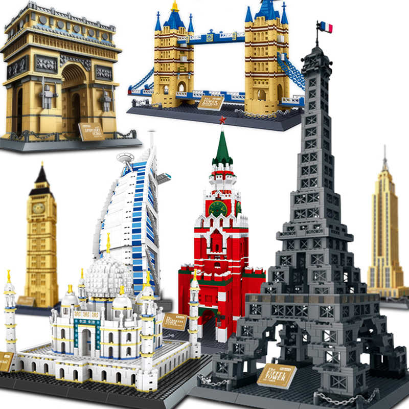 wange architecture Compatible legoed pyramid Sydney Opera House blocks sets building city capital London Tower triumphal arch