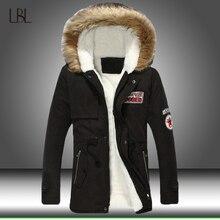 Homens inverno jaqueta casual parka dos homens fino engrossar pele com capuz outwear casaco quente masculino com capuz marca roupas homem sólido longo parkas