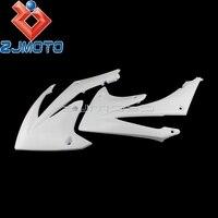 Motocross Dirt Bike Radiator Scoops Shrouds For Honda CRF450R 2009 2012 CRF250R 2010 2013 White Radiator Shrouds