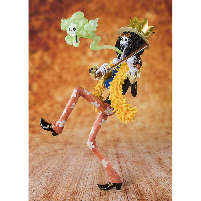 One Piece 20th Anniversary Brook Action Figure 1/8 scale painted figure Zero Anime Ver. Brook PVC figure Toy Brinquedos Anime