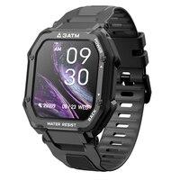 SENBONO-reloj inteligente C16 de 1,69 pulgadas para hombre, dispositivo con control de la presión arterial, compatible con modos deportivos y cámara remota