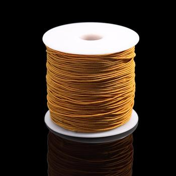 7m/bag 1mm Round Elastic Cord Beading Stretch Thread/String/Rope for Necklace Bracelet Jewelry Making Supply 9