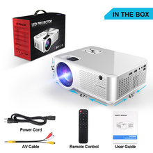 C9 Newest WIFI Android Projector 1280*720P Support 4K Videos Via HDMI Home Cinem