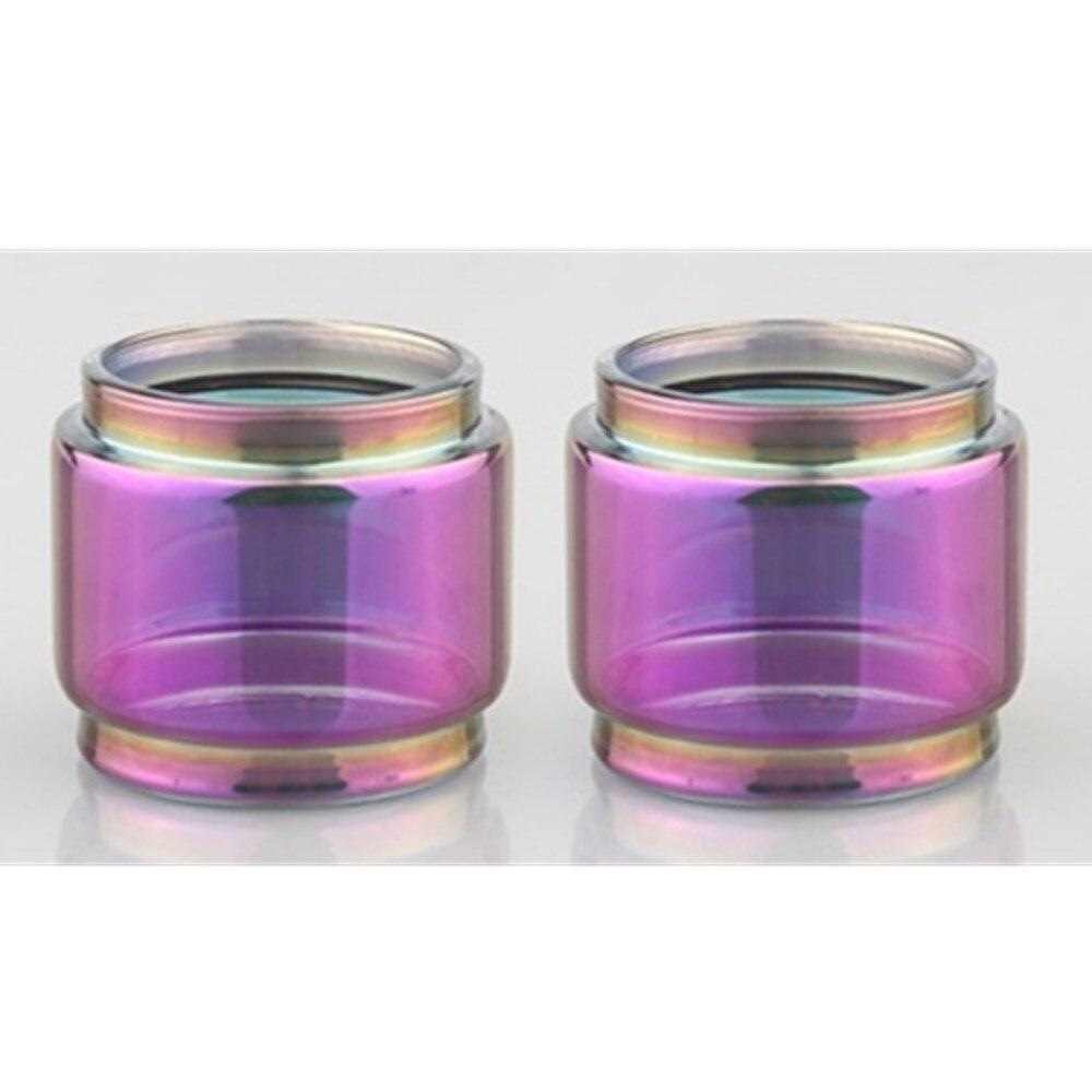 5pcs FATUBE Rainbow Bubble Glass TUBE for  ZEUS rta 4ML/Zeus Dual RTA 4ml/ZEUS X 3.5ml/Zeus Sub Ohm Tank 3.5ml mesh 2