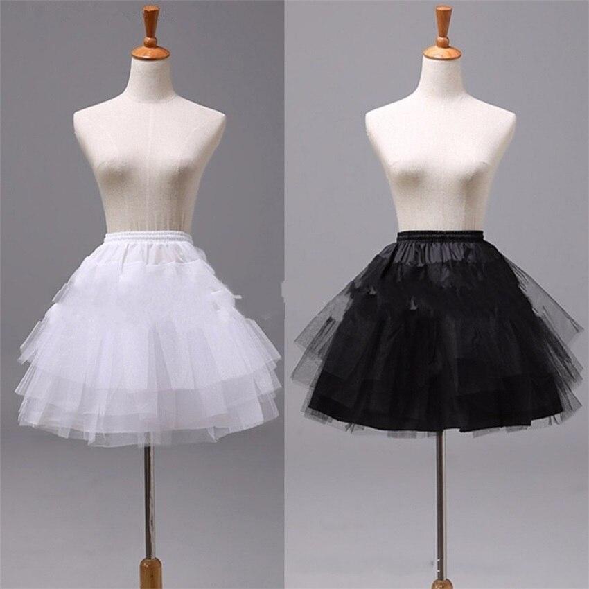Enagua de Ballet de alta calidad, enagua de tul con volantes cortos, miriñaque nupcial, enaguas de niño