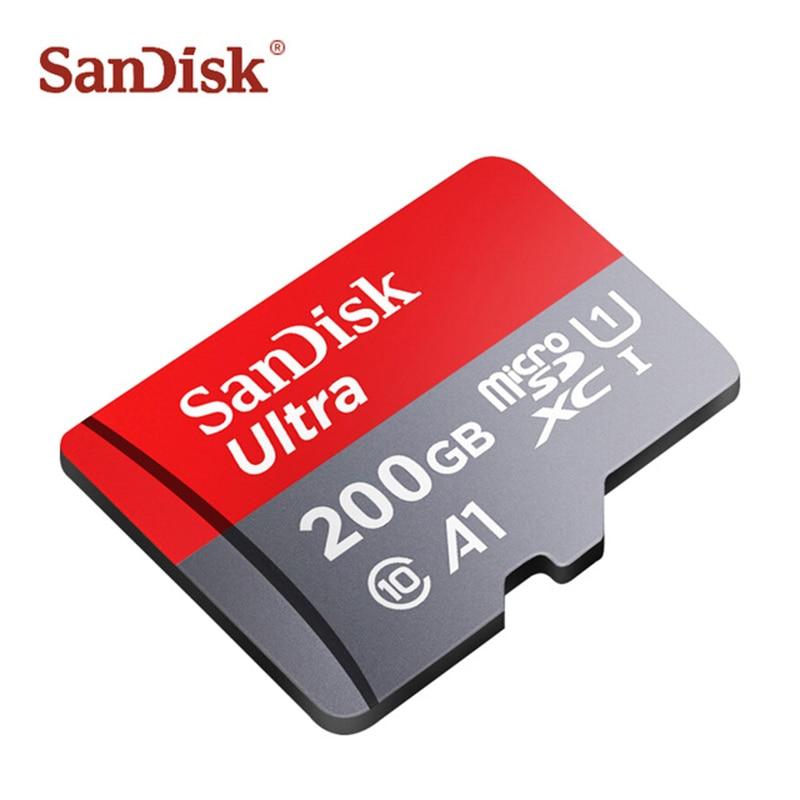 Высокоскоростная карта памяти Micro SD 64 ГБ, карта памяти MicroSD класса 10, TF карта 128 ГБ 200 ГБ, карта памяти для телефона, камеры