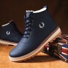 Winter shoes men High canvas shoes retro