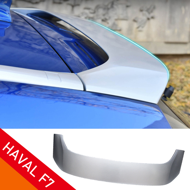 $ US $15.18 For HAVAL F7 rear spoiler ABS material Paint process Car exterior accessories 2019 2020