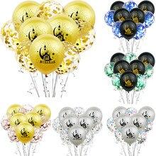 ZLJQ 10 teile/los EID MUBARAK Luftballons Muslimischen Ramadan Party Dekorationen Iftar Hadsch Mubarak Konfetti Ballon Wohnkultur Liefert