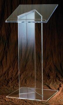 2016 Custom Acrylic Modern Design Hot Selling Acrylic Podium Lectern